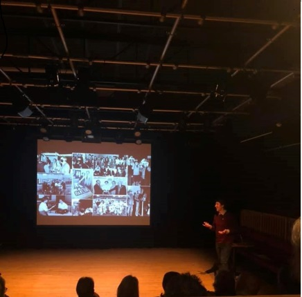 Re Telling the New Town Story audience